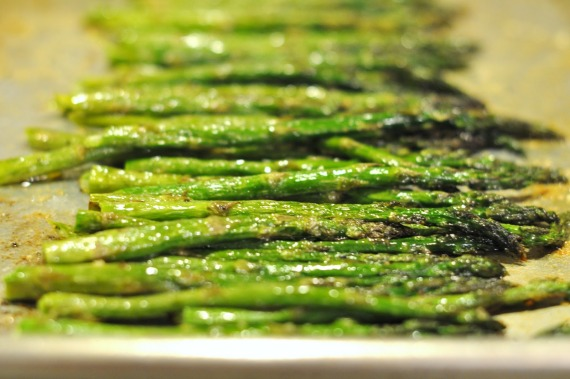 OVEN-ROASTED ASPARAGUS [RECIPE]